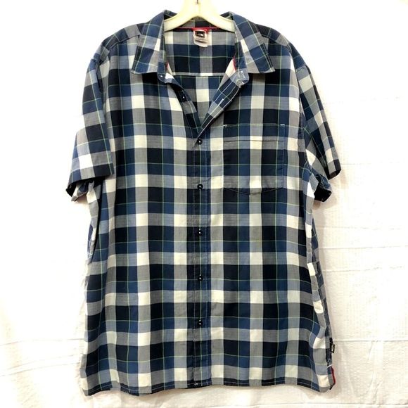 The North Face Other - The North Face Button Down Collared Plaid Shirt